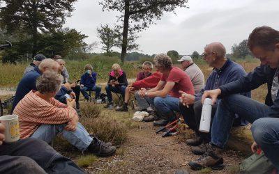 Natuurwerkgroep weer aan de slag